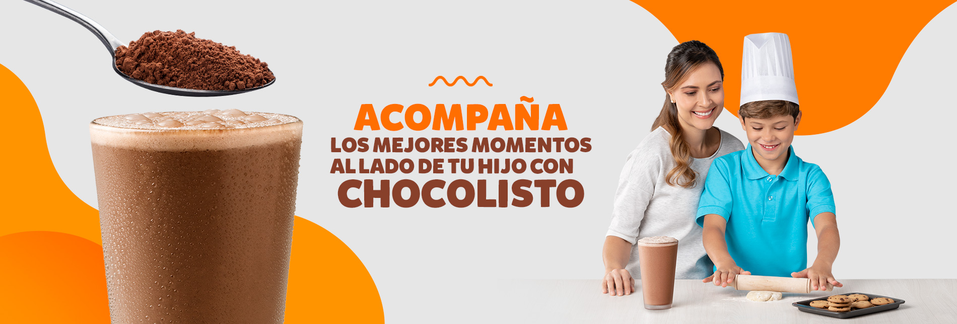 Chocolisto acompaña momentos